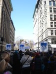 The Triangle Rally for Union Workers in the shadow of the Asch Building